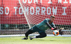 SOUTHAMPTON, ENGLAND - JUNE 16: Angus Gunn during a Southampton FC training session at the Staplewood Campus on June 16, 2020 in Southampton, England. (Photo by Matt Watson/Southampton FC via Getty Images)