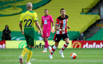 NORWICH, ENGLAND - JUNE 19: Jan Bednarek during the Premier League match between Norwich City and Southampton FC at Carrow Road on June 19, 2020 in Norwich, United Kingdom. (Photo by Matt Watson/Southampton FC via Getty Images)