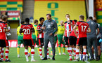 NORWICH, ENGLAND - JUNE 19: Ralph Hasenhuttl during the Premier League match between Norwich City and Southampton FC at Carrow Road on June 19, 2020 in Norwich, United Kingdom. (Photo by Matt Watson/Southampton FC via Getty Images)