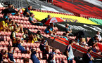 SOUTHAMPTON, ENGLAND - JUNE 25: during the Premier League match between Southampton FC and Arsenal FC at St Mary's Stadium on March 21, 2020 in Southampton, United Kingdom. (Photo by Chris Moorhouse/Southampton FC via Getty Images)