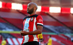 SOUTHAMPTON, ENGLAND - JUNE 25: Nathan Redmond of Southampton during the Premier League match between Southampton FC and Arsenal FC at St Mary's Stadium on June 25, 2020 in Southampton, United Kingdom. (Photo by Matt Watson/Southampton FC via Getty Images)