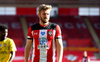 SOUTHAMPTON, ENGLAND - JUNE 25: Stuart Armstrong of Southampton during the Premier League match between Southampton FC and Arsenal FC at St Mary's Stadium on June 25, 2020 in Southampton, United Kingdom. (Photo by Matt Watson/Southampton FC via Getty Images)