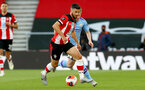 SOUTHAMPTON, ENGLAND - JULY 05: Shane Long during the Premier League match between Southampton FC and Manchester City at St Mary's Stadium on July 5, 2020 in Southampton, United Kingdom. Football Stadiums around Europe remain empty due to the Coronavirus Pandemic as Government social distancing laws prohibit fans inside venues resulting in games being played behind closed doors. (Photo by Matt Watson/Southampton FC via Getty Images)