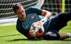 SOUTHAMPTON, ENGLAND - JULY 18: Alex McCarthy during a Southampton FC training session at the Staplewood Campus on July 18, 2020 in Southampton, England. (Photo by Matt Watson/Southampton FC via Getty Images)