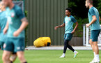 SOUTHAMPTON, ENGLAND - JULY 18: Kyle Walker-Peters during a Southampton FC training session at the Staplewood Campus on July 18, 2020 in Southampton, England. (Photo by Matt Watson/Southampton FC via Getty Images)