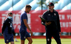 SOUTHAMPTON, ENGLAND - AUGUST 28: Ralph Hasenhuttl during a Southampton FC training session at the Staplewood Campus on August 28, 2020 in Southampton, England. (Photo by Matt Watson/Southampton FC via Getty Images)