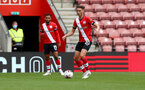 SOUTHAMPTON, ENGLAND - AUGUST 29: Will Smallbone during a pre-season friendly between Southampton FC and Swansea City at St Marys Stadium, on August 29, 2020 in Southampton, England. (Photo by Matt Watson/Southampton FC via Getty Images)