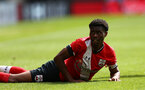 SOUTHAMPTON, ENGLAND - SEPTEMBER 1: Nathan Tella of Southampton during a pre-season friendly match between Southampton U23 and Coventry City at St Mary's Stadium on September 1, 2020 in Southampton, United Kingdom. (Photo by Isabelle Field/Southampton FC)