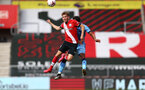 SOUTHAMPTON, ENGLAND - SEPTEMBER 1: Jake Vokins of Southampton during a pre-season friendly match between Southampton U23 and Coventry City at St Mary's Stadium on September 1, 2020 in Southampton, United Kingdom. (Photo by Isabelle Field/Southampton FC)