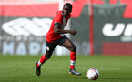 SOUTHAMPTON, ENGLAND - SEPTEMBER 1: Lucas Defise of Southampton during a pre-season friendly match between Southampton U23 and Coventry City at St Mary's Stadium on September 1, 2020 in Southampton, United Kingdom. (Photo by Isabelle Field/Southampton FC)