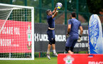 SOUTHAMPTON, ENGLAND - SEPTEMBER 03: Fraser Forster during a Southampton FC training session at the Staplewood Campus on September 03, 2020 in Southampton, England. (Photo by Matt Watson/Southampton FC via Getty Images)