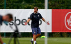 LONDON, ENGLAND - SEPTEMBER 15: David Horseman during B Team training session Staplewood Training Ground on September 15, 2020 in Southampton, United Kingdom. (Photo by Isabelle Field/Southampton FC via Getty Images)