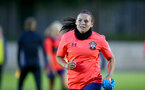 LONDON, ENGLAND - SEPTEMBER 10: Shannon Siewright during women's training session Staplewood Training Ground on September 10, 2020 in Southampton, United Kingdom. (Photo by Isabelle Field/Southampton FC via Getty Images)