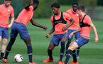 LONDON, ENGLAND - SEPTEMBER 16: Ramello Mitchell during B Team training session Staplewood Training Ground on September 16, 2020 in Southampton, United Kingdom. (Photo by Isabelle Field/Southampton FC via Getty Images)
