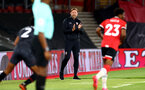 SOUTHAMPTON, ENGLAND - SEPTEMBER 16: Ralph Hasenhuttl Southampton manager during the second round of the Carabao Cup match between Southampton FC and Brentford FC at St. Mary's Stadium on September 16, 2020 in Southampton, England. (Photo by Matt Watson/Southampton FC via Getty Images)