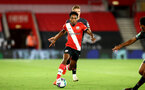 SOUTHAMPTON, ENGLAND - SEPTEMBER 16: Kyle Walker-Peters of Southampton during the second round of the Carabao Cup match between Southampton FC and Brentford FC at St. Mary's Stadium on September 16, 2020 in Southampton, England. (Photo by Matt Watson/Southampton FC via Getty Images)