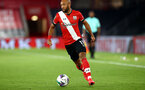 SOUTHAMPTON, ENGLAND - SEPTEMBER 16: Nathan Redmond of Southampton during the second round of the Carabao Cup match between Southampton FC and Brentford FC at St. Mary's Stadium on September 16, 2020 in Southampton, England. (Photo by Matt Watson/Southampton FC via Getty Images)