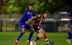 SOUTHAMPTON, ENGLAND - SEPTEMBER 18: Jake Hesketh (R) of Southampton during the Premier League 2 match between Southampton FC B Team and Chelsea FC at Snows Stadium on September 18, 2020 in Southampton, England. (Photo by Isabelle Field/Southampton FC via Getty Images)