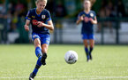 SOUTHAMPTON, ENGLAND - SEPTEMBER 20: Shannon Albuery of Southampton during the FAWNL match between Southampton Women and Poole Town FC at Specsavers County Ground on September 20, 2020 in Poole, England. (Photo by Isabelle Field/Southampton FC via Getty Images)