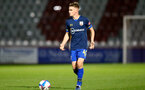 STEVENAGE, ENGLAND - SEPTEMBER 22: Jake Hesketh of Southampton during the EFL Trophy match between Stevenage FC and Southampton FC B Team  at the Lamex Stadium on September 22, 2020 in Stevenage, England. (Photo by Isabelle Field/Southampton FC via Getty Images)