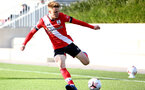 SOUTHAMPTON, ENGLAND - SEPTEMBER 26: Jake Hesketh of Southampton during Premier League 2 Match between Southampton B Team and West Ham United at Staplewood Training Ground on September 26, 2020 in Southampton, England. (Photo by Isabelle Field/Southampton FC via Getty Images)