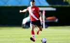 SOUTHAMPTON, ENGLAND - SEPTEMBER 26: Tom O'Connor of Southampton during Premier League 2 Match between Southampton B Team and West Ham United at Staplewood Training Ground on September 26, 2020 in Southampton, England. (Photo by Isabelle Field/Southampton FC via Getty Images)