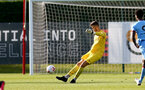 SOUTHAMPTON, ENGLAND - SEPTEMBER 26: Angus Gunn of Southampton during Premier League 2 Match between Southampton B Team and West Ham United at Staplewood Training Ground on September 26, 2020 in Southampton, England. (Photo by Isabelle Field/Southampton FC via Getty Images)