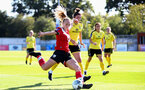 Southampton, ENGLAND - SEPTEMBER 27: Rosie Parnell of Southampton during the FAWNL match between Southampton Women and Buckland Athletic at Snows Stadium on September 27, 2020 in Southampton, United Kingdom (Photo by Isabelle Field/Southampton FC via Getty Images)