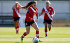 Southampton, ENGLAND - SEPTEMBER 27: Georgie Freeland of Southampton during the FAWNL match between Southampton Women and Buckland Athletic at Snows Stadium on September 27, 2020 in Southampton, United Kingdom (Photo by Isabelle Field/Southampton FC via Getty Images)