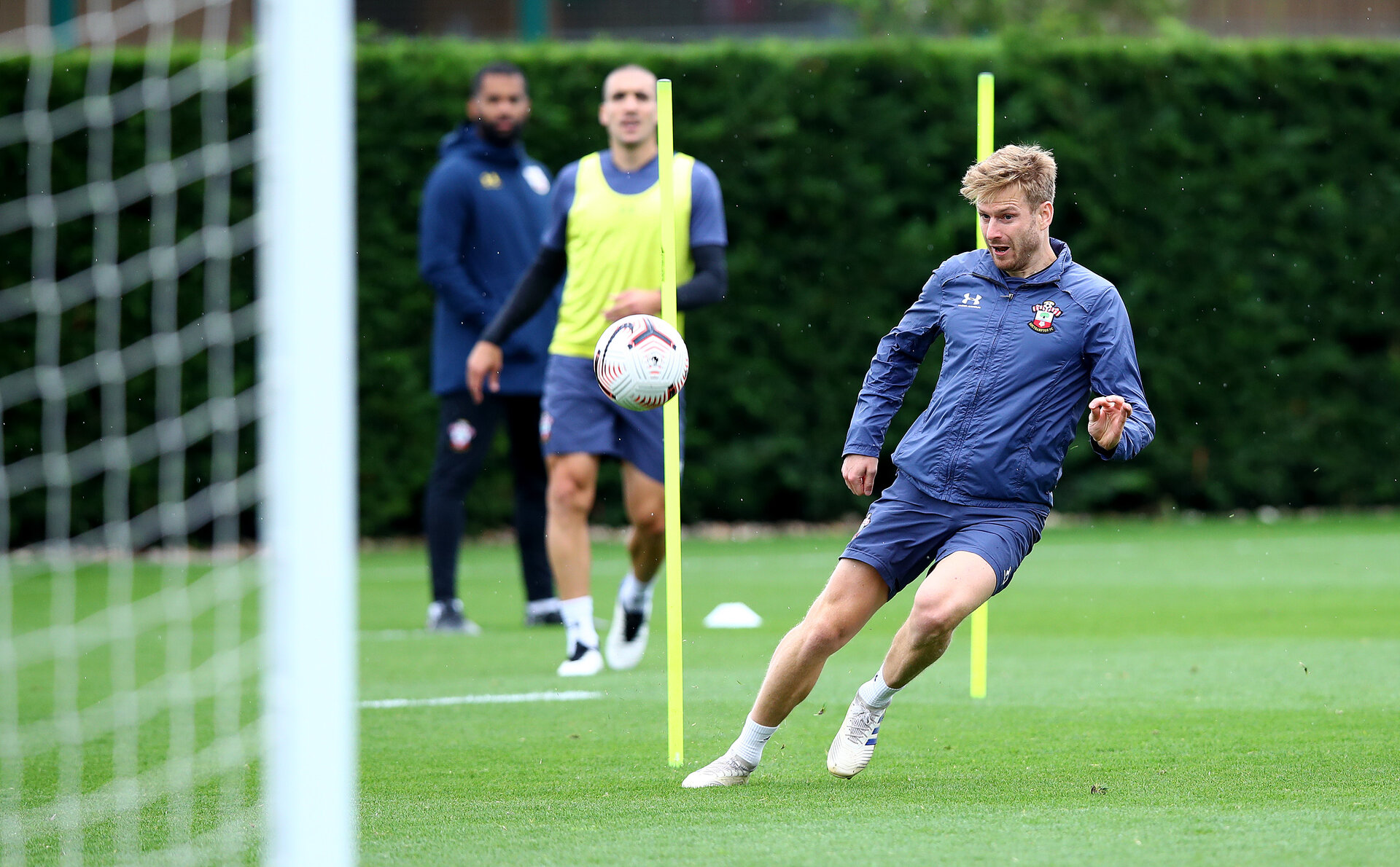 SOUTHAMPTON, ENGLAND - SEPTEMBER 30: Stuart Armstrong during a Southampton FC training session at the Staplewood Campus on September 30, 2020 in Southampton, England. (Photo by Matt Watson/Southampton FC via Getty Images)