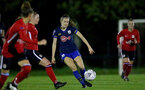 Southampton, ENGLAND - SEPTEMBER 30: Ella Pusey of Southampton during the FAWNL match between Southampton Womens and Southampton FC Women at Alresford Town on September 30, 2020 in Southampton, United Kingdom (Photo by Isabelle Field/Southampton FC via Getty Images)