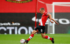 SOUTHAMPTON, ENGLAND - OCTOBER 04: James Ward-Prowse of Southampton during the Premier League match between Southampton and West Bromwich Albion at St Mary's Stadium on October 4, 2020 in Southampton, United Kingdom. Sporting stadiums around the UK remain under strict restrictions due to the Coronavirus Pandemic as Government social distancing laws prohibit fans inside venues resulting in games being played behind closed doors. (Photo by Matt Watson/Southampton FC via Getty Images)