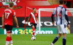 SOUTHAMPTON, ENGLAND - OCTOBER 04: Jan Bednarek of Southampton during the Premier League match between Southampton and West Bromwich Albion at St Mary's Stadium on October 04, 2020 in Southampton, United Kingdom. Sporting stadiums around the UK remain under strict restrictions due to the Coronavirus Pandemic as Government social distancing laws prohibit fans inside venues resulting in games being played behind closed doors. (Photo by Matt Watson/Southampton FC via Getty Images)