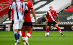 SOUTHAMPTON, ENGLAND - OCTOBER 04: Oriol Romeu of Southampton during the Premier League match between Southampton and West Bromwich Albion at St Mary's Stadium on October 04, 2020 in Southampton, United Kingdom. Sporting stadiums around the UK remain under strict restrictions due to the Coronavirus Pandemic as Government social distancing laws prohibit fans inside venues resulting in games being played behind closed doors. (Photo by Matt Watson/Southampton FC via Getty Images)