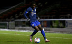 NORTHAMPTON, ENGLAND - OCTOBER 06: Lucas Defise of Southampton during EFL Cup match between Northampton Town FC and Southampton FC B Team at the PTS Academy Stadium on October 6, 2020 in Northampton, England. (Photo by Isabelle Field/Southampton FC via Getty Images)