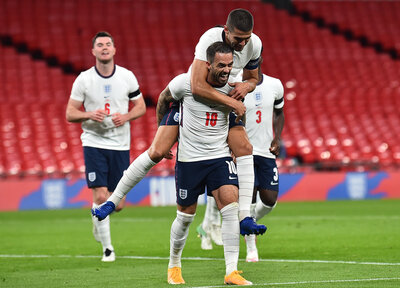 Ings nets first England goal in style