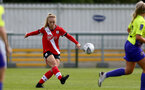 SOUTHAMPTON, ENGLAND - OCTOBER 11: Rosie Parnell of Southampton during FAWNL match between Southampton Women and Exeter City at Snows Stadium on October 11, 2020 in Southampton, England. (Photo by Isabelle Field/Southampton FC via Getty Images)