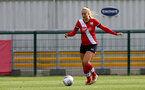 SOUTHAMPTON, ENGLAND - OCTOBER 11: Catlin Morris of Southampton during FAWNL match between Southampton Women and Exeter City at Snows Stadium on October 11, 2020 in Southampton, England. (Photo by Isabelle Field/Southampton FC via Getty Images)