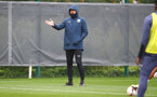 SOUTHAMPTON, ENGLAND - OCTOBER 12: Ralph Hasenhüttl during a Southampton FC training session at the Staplewood Campus on October 12, 2020 in Southampton, England. (Photo by Matt Watson/Southampton FC via Getty Images)