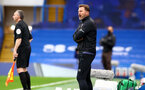 LONDON, ENGLAND - OCTOBER 17:  Ralph Hasenhuttl Southampton Manager during the Premier League match between Chelsea and Southampton at Stamford Bridge on October 17, 2020 in London, United Kingdom. Sporting stadiums around the UK remain under strict restrictions due to the Coronavirus Pandemic as Government social distancing laws prohibit fans inside venues resulting in games being played behind closed doors. (Photo by Matt Watson/Southampton FC via Getty Images)