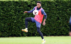 SOUTHAMPTON, ENGLAND - OCTOBER 21: Kyle Walker-Peters during a Southampton FC Training session at the Staplewood Complex on October 21, 2020 in Southampton, England. (Photo by Isabelle Field/Southampton FC via Getty Images)