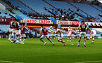 BIRMINGHAM, ENGLAND - NOVEMBER 01: James Ward-Prowse(L) of Southampton scores free kick during the Premier League match between Aston Villa and Southampton at Villa Park on November 01, 2020 in Birmingham, England. Sporting stadiums around the UK remain under strict restrictions due to the Coronavirus Pandemic as Government social distancing laws prohibit fans inside venues resulting in games being played behind closed doors. (Photo by Matt Watson/Southampton FC via Getty Images)