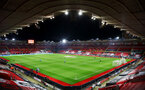 SOUTHAMPTON, ENGLAND - NOVEMBER 06: A general view ahead of the Premier League match between Southampton and Newcastle United at St Mary's Stadium on November 06, 2020 in Southampton, England. Sporting stadiums around the UK remain under strict restrictions due to the Coronavirus Pandemic as Government social distancing laws prohibit fans inside venues resulting in games being played behind closed doors. (Photo by Matt Watson/Southampton FC via Getty Images)