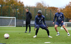 SOUTHAMPTON, ENGLAND - NOVEMBER 11: Kyle Walker-Peters during a Southampton FC training session at the Staplewood Campus on November 11, 2020 in Southampton, England. (Photo by Matt Watson/Southampton FC via Getty Images)