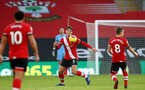 SOUTHAMPTON, ENGLAND - NOVEMBER 29: Jannik Vestergaard of Southampton during the Premier League match between Southampton and Manchester United at St Mary's Stadium on November 29, 2020 in Southampton, England. Sporting stadiums around the UK remain under strict restrictions due to the Coronavirus Pandemic as Government social distancing laws prohibit fans inside venues resulting in games being played behind closed doors. (Photo by Matt Watson/Southampton FC via Getty Images)