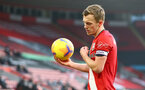SOUTHAMPTON, ENGLAND - NOVEMBER 29: James Ward-Prowse of Southampton during the Premier League match between Southampton and Manchester United at St Mary's Stadium on November 29, 2020 in Southampton, England. Sporting stadiums around the UK remain under strict restrictions due to the Coronavirus Pandemic as Government social distancing laws prohibit fans inside venues resulting in games being played behind closed doors. (Photo by Matt Watson/Southampton FC via Getty Images)