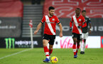 SOUTHAMPTON, ENGLAND - NOVEMBER 29: Shane Long of Southampton during the Premier League match between Southampton and Manchester United at St Mary's Stadium on November 29, 2020 in Southampton, England. Sporting stadiums around the UK remain under strict restrictions due to the Coronavirus Pandemic as Government social distancing laws prohibit fans inside venues resulting in games being played behind closed doors. (Photo by Matt Watson/Southampton FC via Getty Images)