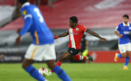 SOUTHAMPTON, ENGLAND - NOVEMBER 30: Michael Obafemi of Southampton during the Premier League 2 match between Southampton FC B Team and Brighton & Hove Albion at the St Mary's Stadium on November 30, 2020 in Southampton, England. (Photo by Isabelle Field/Southampton FC via Getty Images)