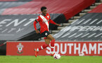 SOUTHAMPTON, ENGLAND - NOVEMBER 30: Nathan Tella of Southampton during the Premier League 2 match between Southampton FC B Team and Brighton & Hove Albion at the St Mary's Stadium on November 30, 2020 in Southampton, England. (Photo by Isabelle Field/Southampton FC via Getty Images)