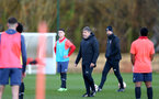 SOUTHAMPTON, ENGLAND - DECEMBER 03 : Paul Hardyman U18s head coach during Southampton U18s training session at Staplewood Complex on December 03, 2020 in Southampton, England. (Photo by Isabelle Field/Southampton FC via Getty Images)